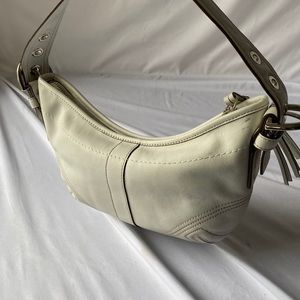 Authentic COACH small soho hobo baguette
